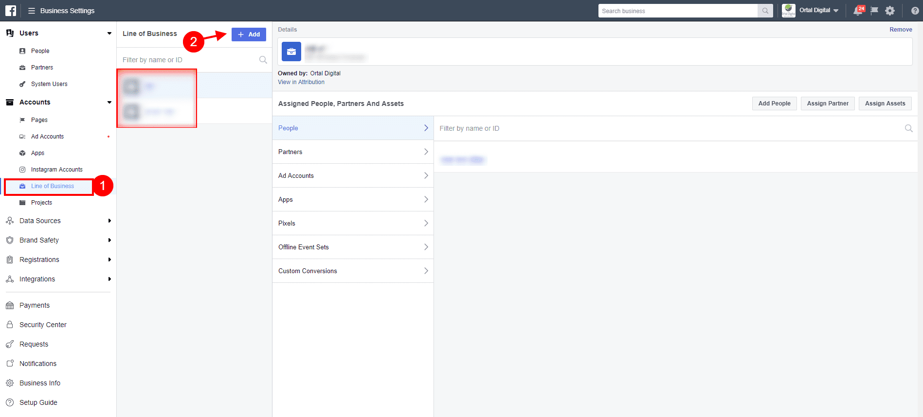 facebook attribution business settings